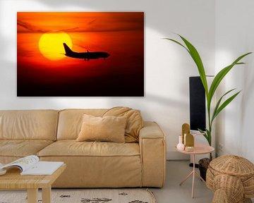 KLM Cityhopper is crossing the sun van Stefano Scoop