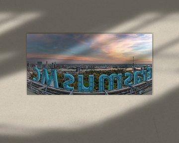 Panoramaview Rotterdam von AdV Photography