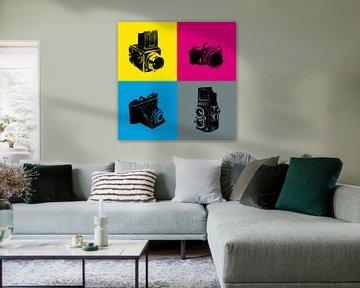 Camera in kleur von Rob van der Teen