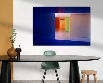 modern colorful interior van Tejo Coen