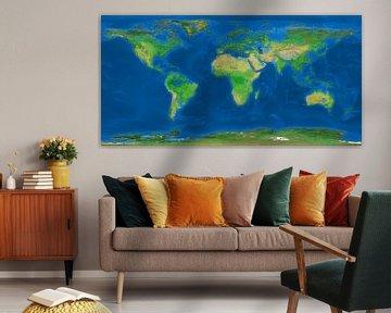 Die Ertrunkene Erde von Frans Blok