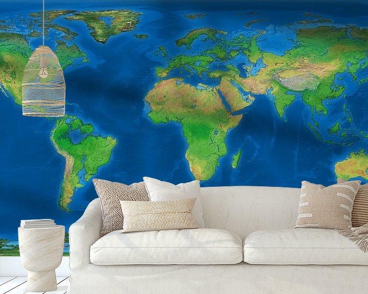 Sfeerimpressie behang: De Verdronken Wereld van Frans Blok