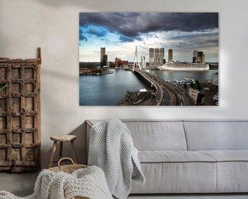 Visite in Rotterdam van Roy Poots