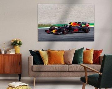 Max Verstappen Barcelona van Erik Noort