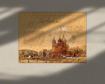 Amsterdam von Printed Artings