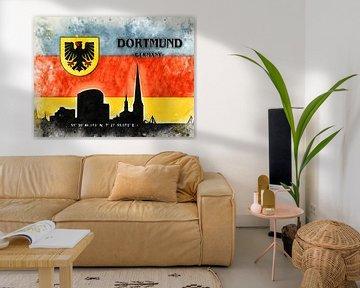 Dortmund van Printed Artings