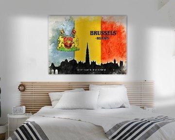 Brüssel van Printed Artings