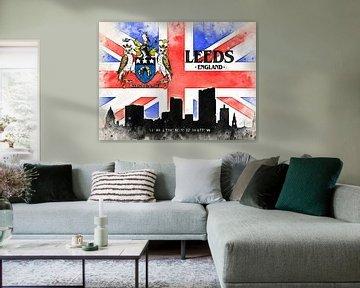 Leeds van Printed Artings