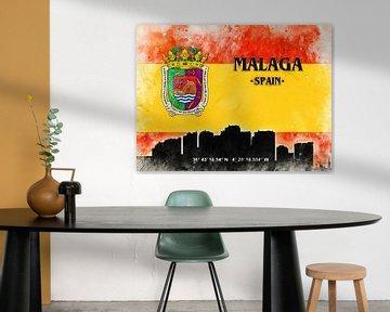 Malaga van Printed Artings