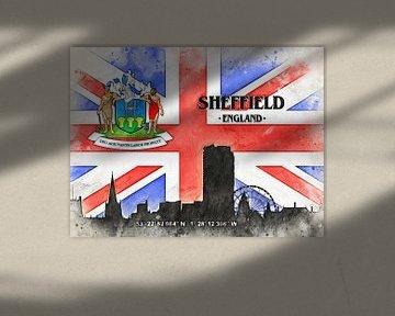 Sheffield van Printed Artings