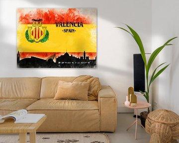Valencia van Printed Artings