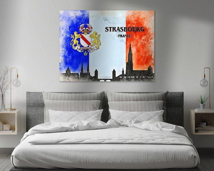 Sfeerimpressie: Straßburg van Printed Artings