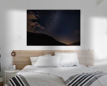 Melkweg / Perseids van Jozef Gyant