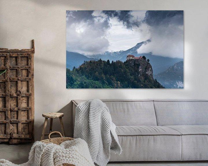 Sfeerimpressie: Kasteel van Bled van Jozef Gyant