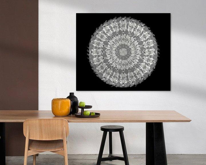 Beispiel: mandala twirl von harry de jong