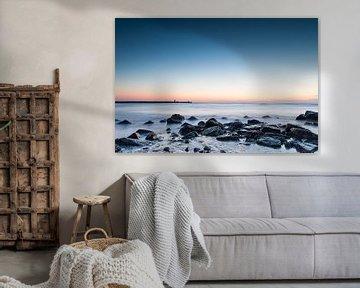 Scheveningen beach - 3 von Damien Franscoise