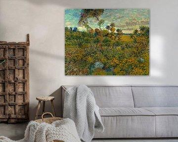 Sonnenuntergang bei Montmajour, Vincent van Gogh