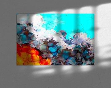 Orangenblau/ Orangenblau/ von Joke Gorter