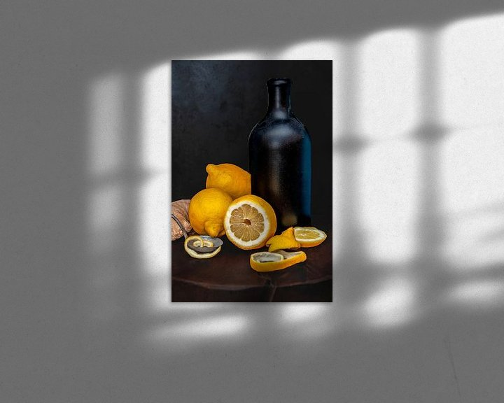 Beispiel: Zitronenstilleben von zippora wiese