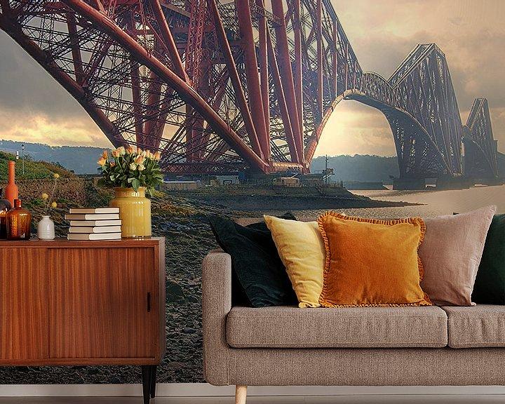 Sfeerimpressie behang: Firth of Forth van Remy De Milde