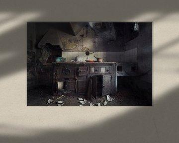 primitive verlassene Küche von Kristof Ven