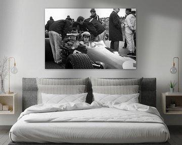 Jack Brabham 1968 Grand Prix Zandvoort sur Harry Hadders
