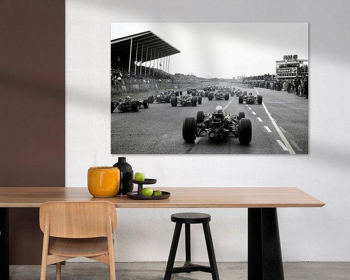 Impression: Début du Grand Prix 1968 à Zandvoort sur Harry Hadders