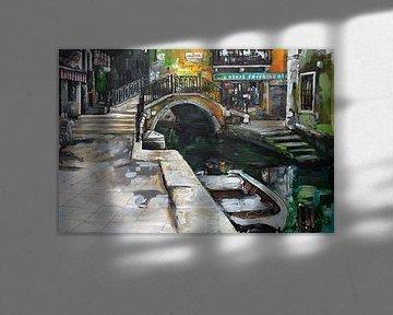 Venise (Italie) peinture sur Jos Hoppenbrouwers