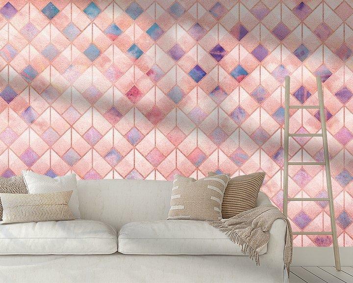 Beispiel fototapete: Geometric XXXXVII von Art Design Works