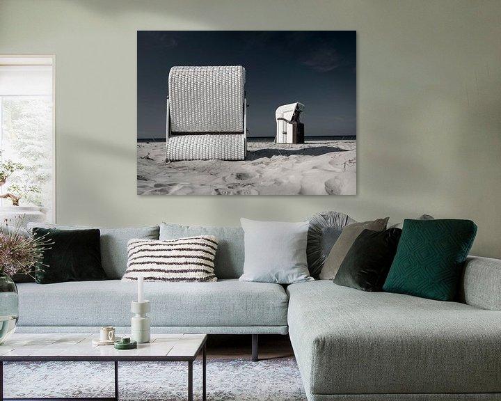 Beispiel: Strandkorb an der Ostsee von Andreas Müller