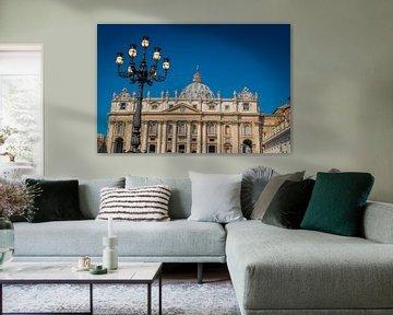 Petersdom im Vatikan von Castro Sanderson