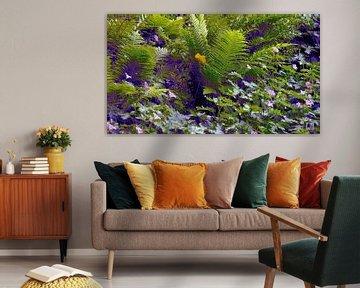 Blumenbeet in der Wallanlage