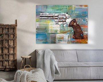 Revolver (Colt Python) von Jos Hoppenbrouwers