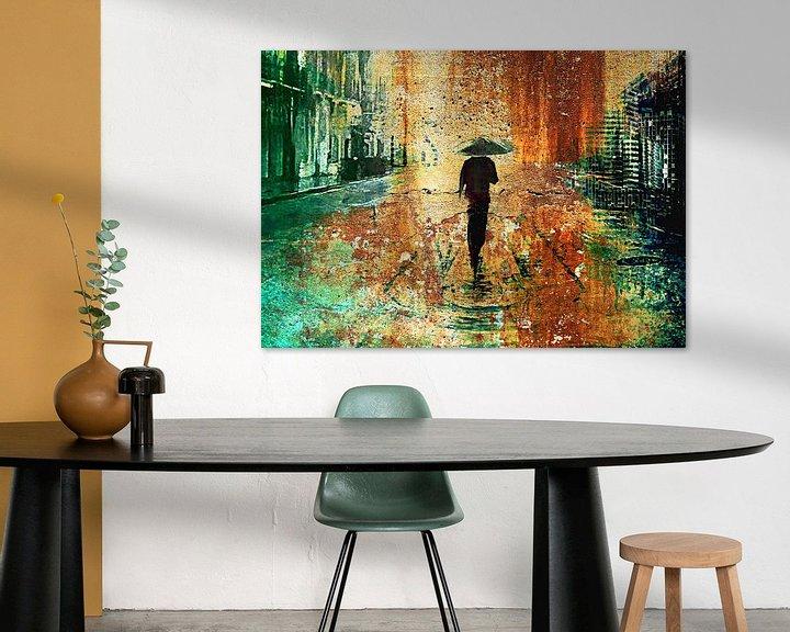 Impression: Walking in the rain sur PictureWork - Digital artist