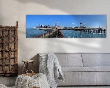 Panorama Vlissingen van Zeeland op Foto