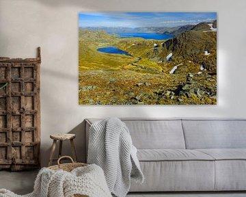 Panoramablick am Nordpolarmeer