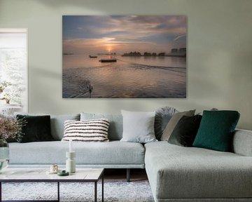 gierponten bij pontje Eck en Wiel Nederrijn van Moetwil en van Dijk - Fotografie