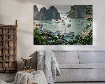 Vietnam   Ha Longbaai van Mrs van Aalst