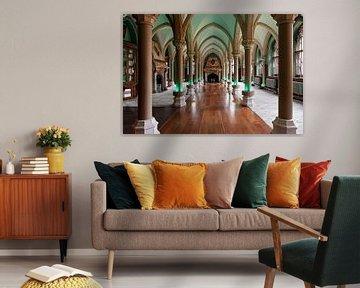Raum mit Säulen von Anouschka Hendriks