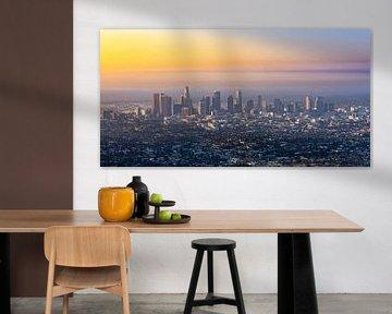Los Angeles Skyline sur Remco Piet