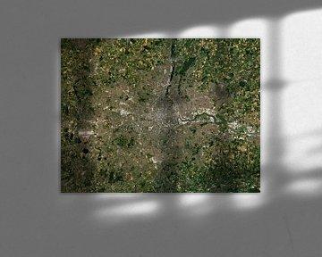 Satellitenbild der Stadt London, Vereinigtes Königreich von Wigger Tims