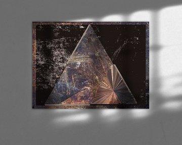 Figuren en vormen - Tetahedron van Christine Nöhmeier