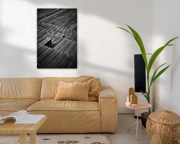 Treppenanlage aus Holz von Michael Moser