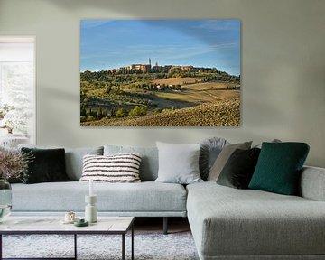 Pienza - Tuscany van Peter Bergmann