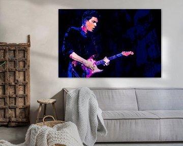 John Mayer Abstract Portret van Art By Dominic