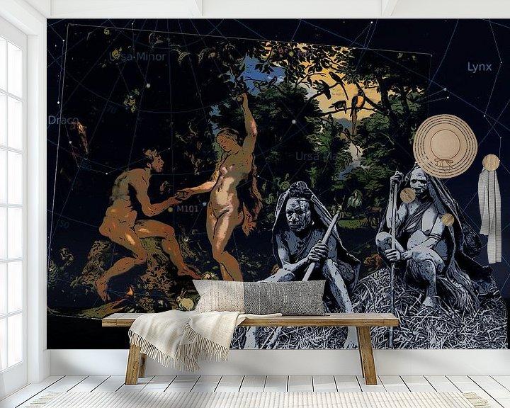 Sfeerimpressie behang: Paradise Lost van Terra- Creative