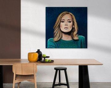Adele Gemälde 3 von Paul Meijering
