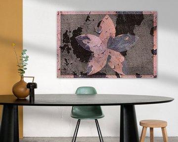 Figuren und Formen - Blütenfresko von Christine Nöhmeier