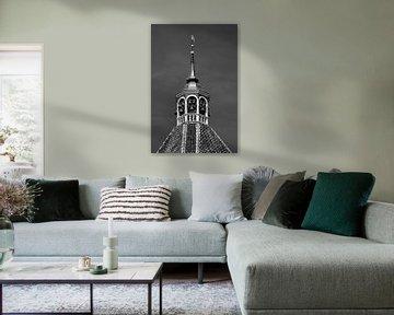 De klokken van de kerktoren van het Groningse Middelstum von Harrie Muis