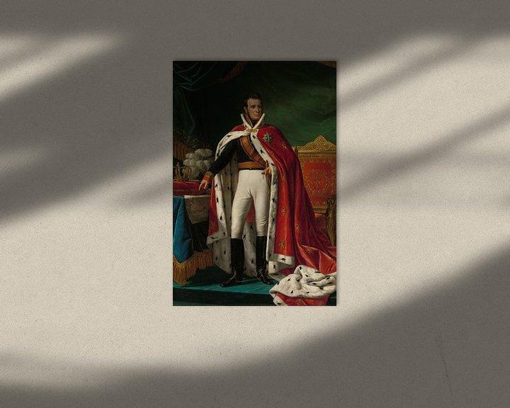 Beispiel: Willem I aus den Niederlanden